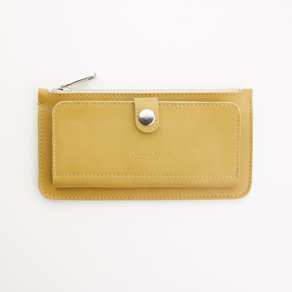női bőr pénztárca eleje patentos kártyatartóval