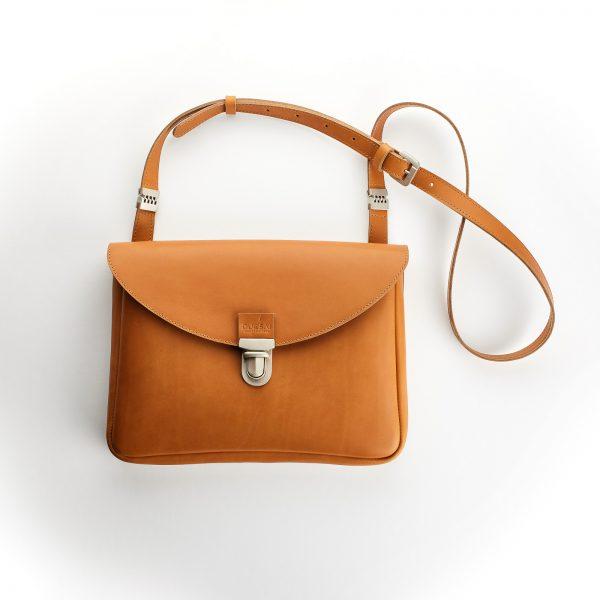 konyak bőr női kis táska