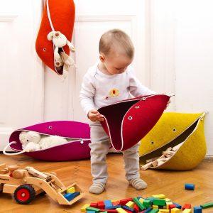 színes klocc tároló gyerekszobába