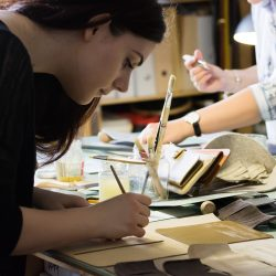 workshop résztvevők munka közben